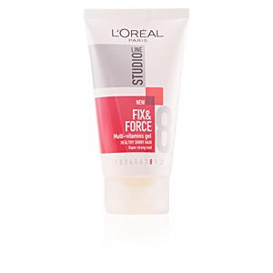 Producto de peinado STUDIO LINE fix & force gel nº8 L'Oréal París
