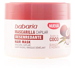 Babaria, ACEITE DE COCO mascarilla capilar desenredante 250 ml