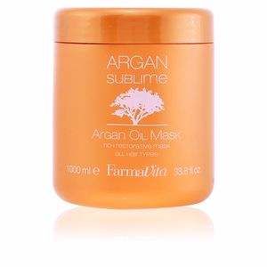 Masque brillance ARGAN SUBLIME mask Farmavita