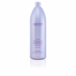 Shampoo für glänzendes Haar - Shampoo für gefärbtes Haar AMETHYSTE for silver and very light blonde hair Farmavita