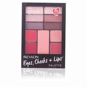 Revlon Make Up, PALETTE eyes, cheeks + lips #300-berry in love