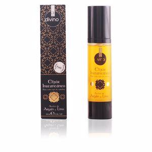 Hair moisturizer treatment DIVINO elixir instantáneo aceite de argán y lino Alexandre Cosmetics