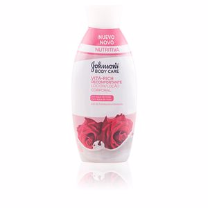 Body moisturiser VITA-RICH RECONFORTANTE ROSAS loción corporal Johnson's