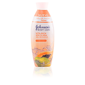 Shower gel VITA-RICH EFECTO SEDA PAPAYA gel de ducha Johnson's