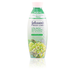 Shower gel VITA-RICH REVITALIZANTE UVA gel de ducha Johnson's