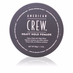 Hair styling product HEAVY HOLD pomade American Crew