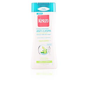 Anti-dandruff shampoo EXPERT ANTI-CASPA ESQUILIBRIO cabello graso Kerzo