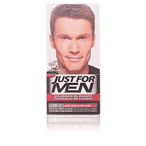 JUST FOR MEN sin amoniaco #castaño oscuro natural