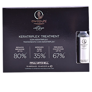 Tratamiento de keratina AWAPUHI wild ginger keratriplex treatment Paul Mitchell