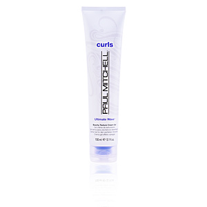 Producto de peinado CURLS ULTIMATE WAVE beachy texture cream-gel Paul Mitchell