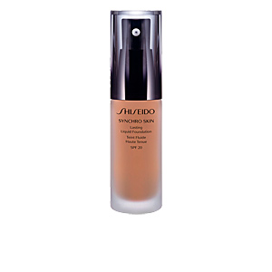 Foundation makeup SYNCHRO SKIN lasting liquid foundation Shiseido