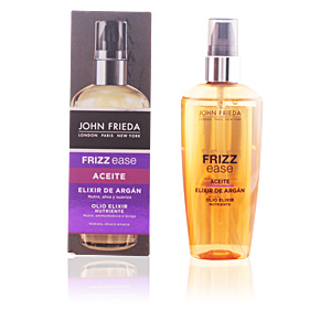 Hair styling product - Hair styling product FRIZZ-EASE aceite elixir argan John Frieda