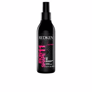 Heat protectant for hair - Hair styling product IRON SHAPE heat re-styling technology Redken