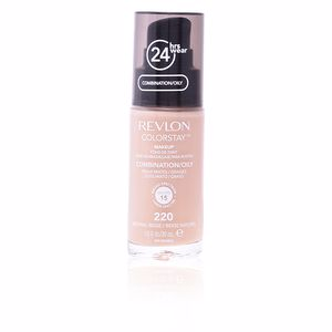 Revlon Make Up, COLORSTAY foundation combination/oily skin #220-naturl beige
