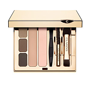 Eyebrow makeup KIT SOURCILS PRO perfect eyes & brows palette Clarins
