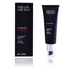 Antifatigue Gesichtsbehandlung POUR HOMME moisturizing detox gel cream Anne Möller