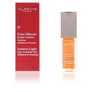 ECLAT MINUTE huile confort lèvres #07-honey shimmer