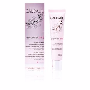Anti aging cream & anti wrinkle treatment RESVERATROL LIFT fluide liftant redensifiant SPF20 Caudalie