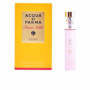 Acqua Di Parma PEONIA NOBILE leather purse 3 Recharges parfum