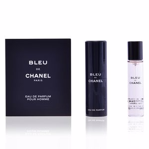 Chanel BLEU Refillable + 3 Refill perfum