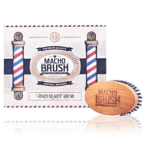 Cura della barba MILITARY brush Macho Beard Company