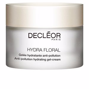 Antioxidant treatment cream HYDRA FLORAL gelée hydratante anti-pollution Decléor