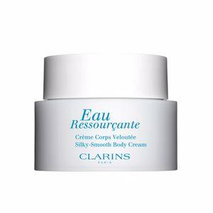 Body moisturiser EAU RESSOURÇANTE creme corps veloutée Clarins