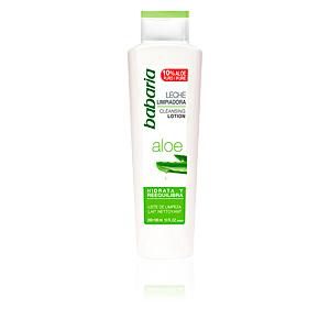 Limpiador facial ALOE VERA leche limpiadora Babaria