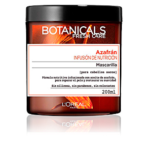 Hair mask for damaged hair BOTANICALS azafrán infusión de nutrición mascarilla L'Oréal París