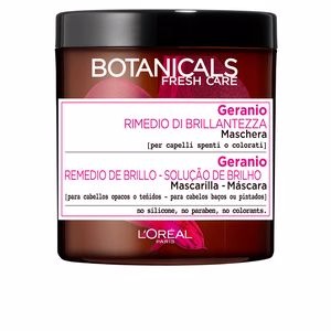 Masque brillance BOTANICALS geranio remedio de brillo mascarilla L'Oréal París
