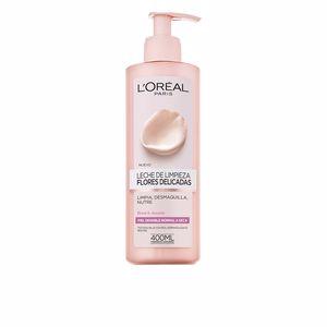 Limpiador facial FLORES DELICADAS leche de limpieza piel sensible-seca L'Oréal París