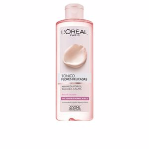 Face toner FLORES DELICADAS tónico piel sensible L'Oréal París
