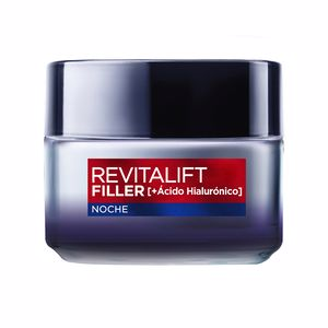 Anti aging cream & anti wrinkle treatment REVITALIFT FILLER noche voluminizadora anti-edad L'Oréal París
