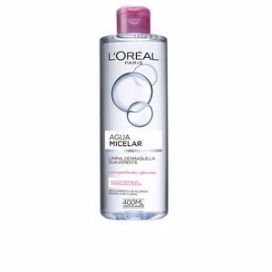 L'Oréal París, AGUA MICELAR SUAVE pieles sensibles 400 ml