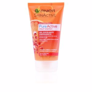 Exfoliant facial PURE ACTIVE gel exfoliante energizante piel mixta Garnier