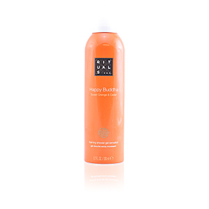 Shower gel HAPPY BUDDHA foaming shower gel sensation Rituals