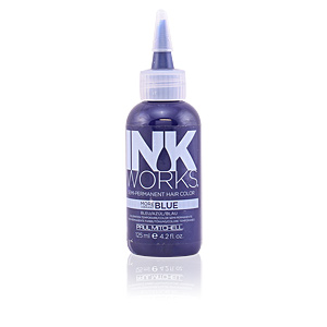 Temporal NEW INK WORKS semi-permanent hair color #blue Paul Mitchell