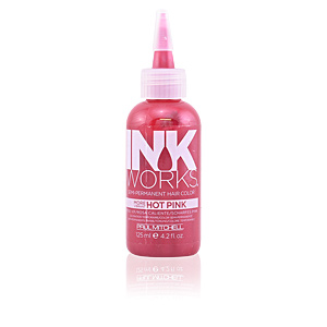Temporal NEW INK WORKS semi-permanent hair color #hot pink Paul Mitchell