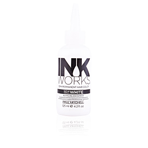 Temporal NEW INK WORKS semi-permanent hair color #white Paul Mitchell