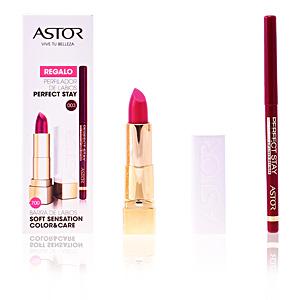 Pintalabios y labiales SOFT SENSATION #700-nude desire + lip liner Astor