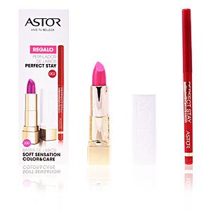 Perfilador labial SOFT SENSATION #200-glamurous pink + lip liner Astor