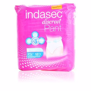 Compress DISCREET PANT PLUS for moderate leakage #large Indasec