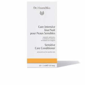 Anti redness treatment cream SENSITIVE care conditioner vials Dr. Hauschka