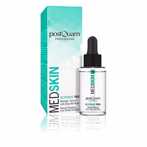 Gesichtspeeling MED SKIN biologic serum with glycolid acid Postquam