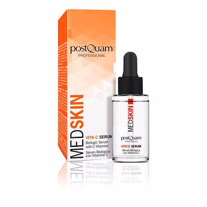 Antioxidant treatment cream MED SKIN bilogic serum with vitamine C Postquam