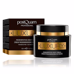 Face moisturizer LUXURY GOLD regenerating night cream Postquam