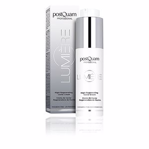 Face moisturizer LUMIÈRE night regenerating caviar cream Postquam