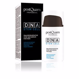 Cremas Antiarrugas y Antiedad GLOBAL DNA MEN essence stop age serum Postquam