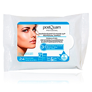 Desmaquillante REMOVAL WIPES antioxidant & make-up Postquam