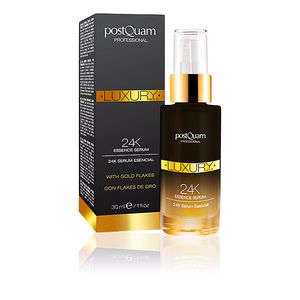 Tratamiento Facial Reafirmante LUXURY GOLD 24K essence serum Postquam